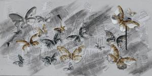 Vlinders Schilderij
