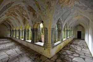 Beton schilderij Lacock abbey