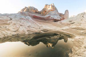 Glas schilderij Arizona landschap