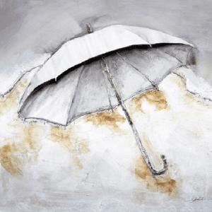 Schilderij paraplu 100x100