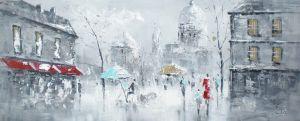 Schilderij Stedelijke Gebouwen Urban Stijl 150x60