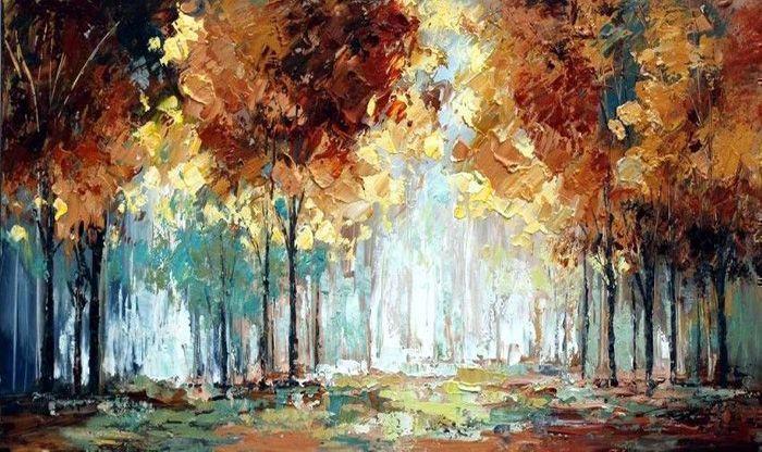 Bosrijk schilderij online bestellen
