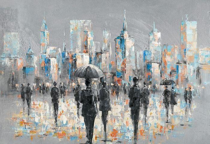 Groot Schilderij Mensen
