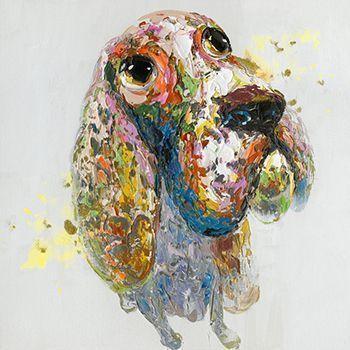 Schilderij honden