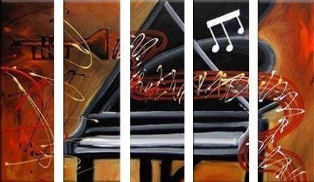 Muziek schilderij