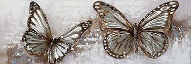 Dieren schilderij vlinders