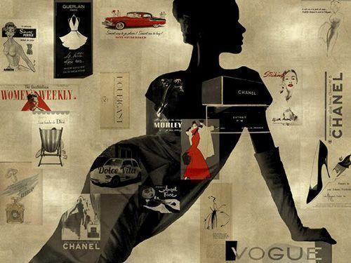 Fashion schilderijen