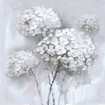 Subtiele hortensia schilderijen bestellen
