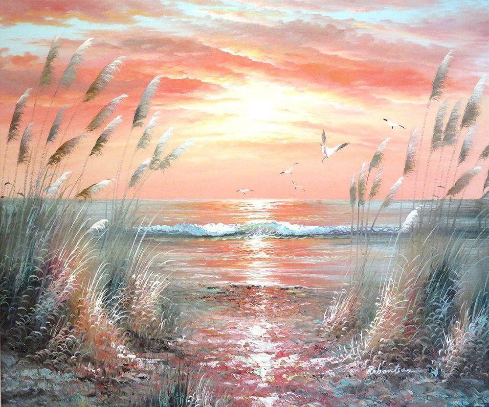 schilderij met zeezicht