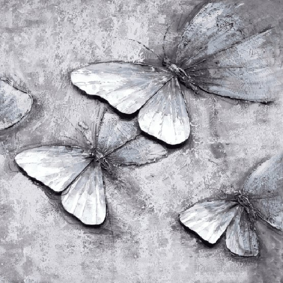 Dieren Schilderijen: Vlinders Kunst