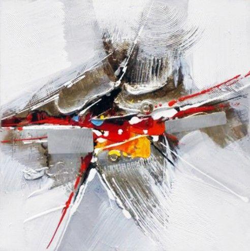 Abstracte Schilderijen: Abstract Metaal Schilderij|Abstract Metaal Schilderij