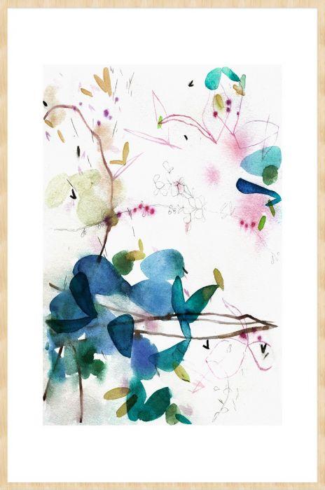 Abstracte Schilderijen: Arts & Crafts 002 Bohemian Abstract