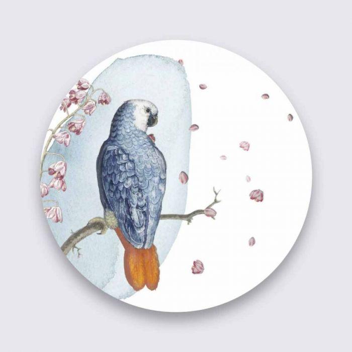 Dieren Schilderijen: Bright Wings Collectie Wandkraft Pure Metal Schilderijen