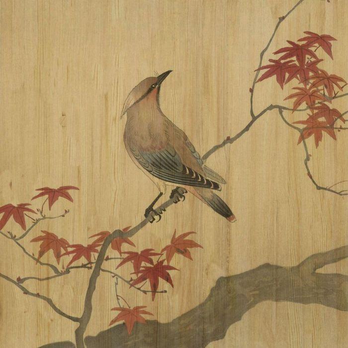 Dieren Schilderijen: LAND OF THE RISING SUN 003 - Collectie Wandkraft Hout Schilderijen