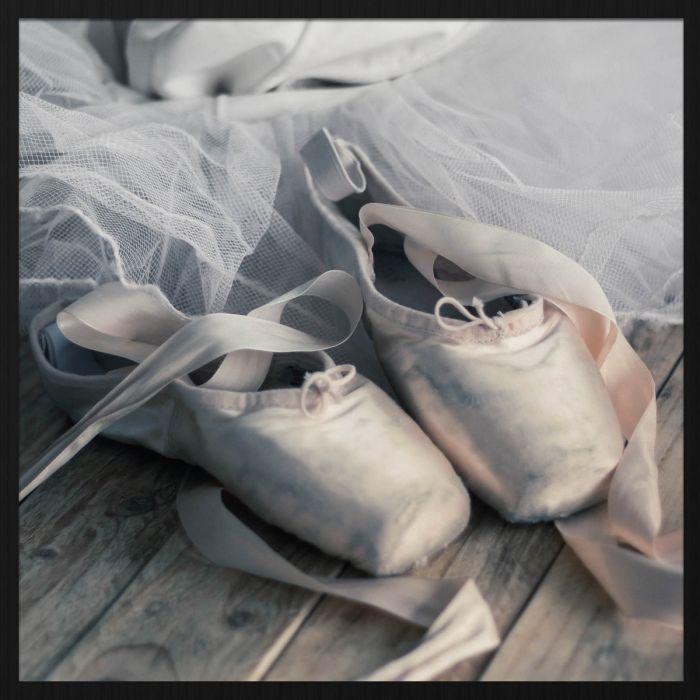 Foto Kunst Schilderijen: Moves Collectie Wandkraft Ballerina Schoenen en Tutu