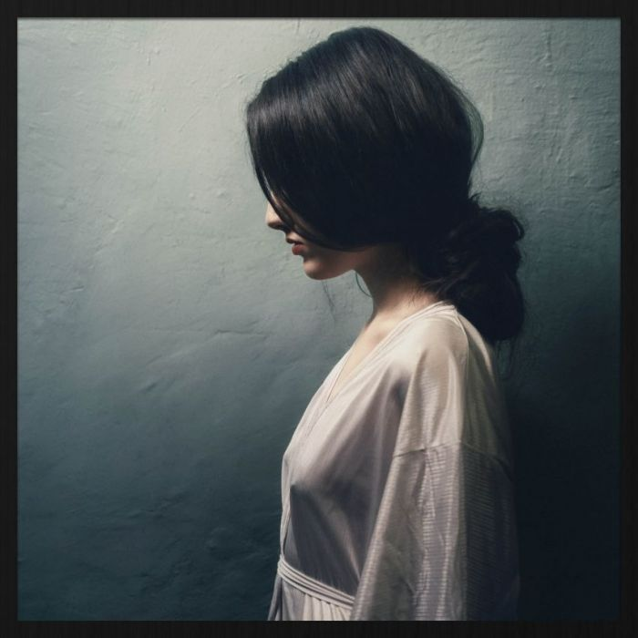 Figuratieve Schilderijen: Elegante Vrouw Zwart Wit Foto