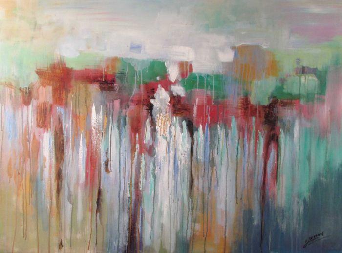Abstracte Schilderijen: Kleurrijk Abstracte Kunst