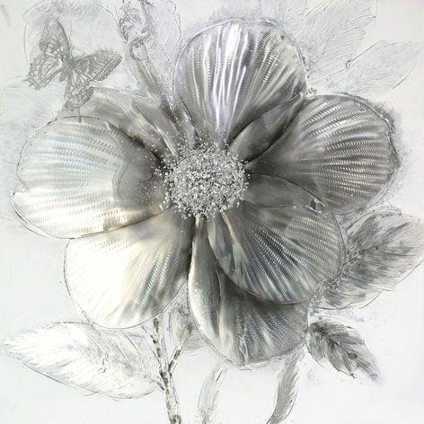 Bloemen Schilderijen: Grijze Klaproos Kunst