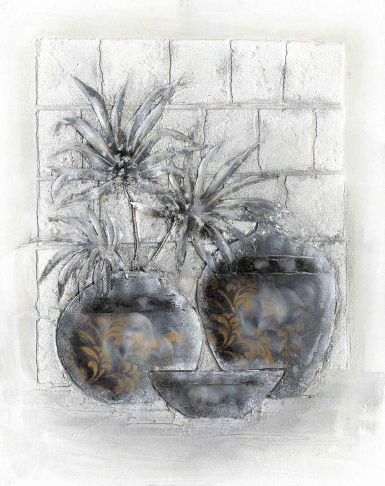 Bloemen Schilderijen: Bloemen Vazen Kunst