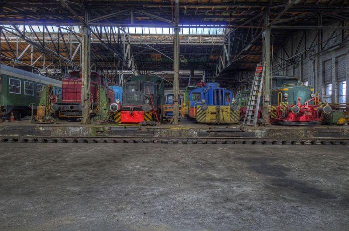 Foto Kunst Schilderijen: Treinen Trams Industrieel Goodman Images Wandkraft Collectie