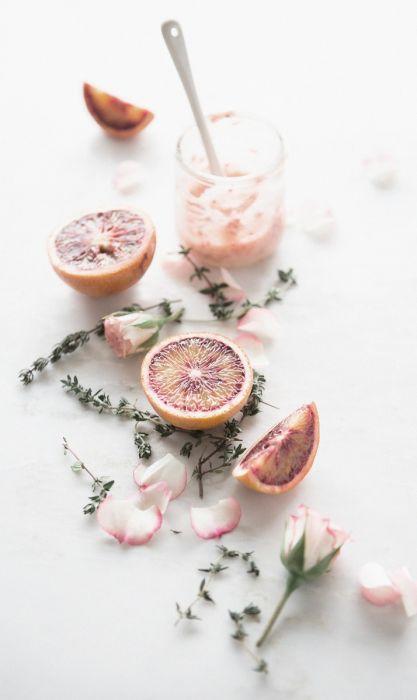 Bloemen Schilderijen: Wandkraft dibond schilderij botanisch roze