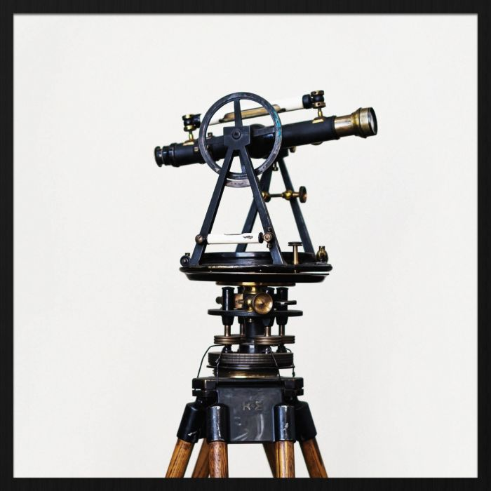 Foto Kunst Schilderijen: Heritage Telescoop Forex Collectie Wandkraft Schilderijen