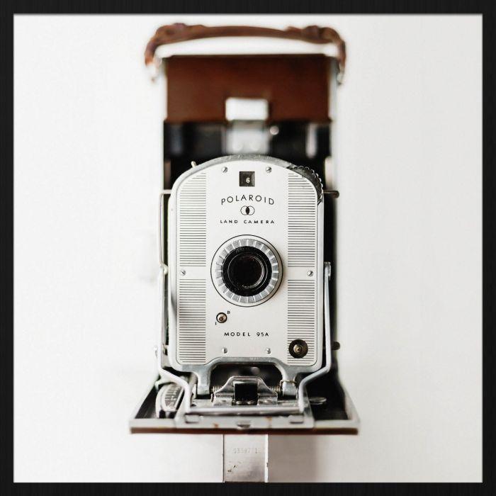 Foto Kunst Schilderijen: Polariod Camera Heritage Wandkraft Collectie Forex Schilderij