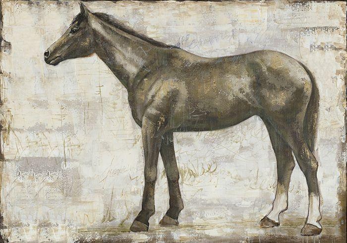 Dieren Schilderijen: Paard Schilderij
