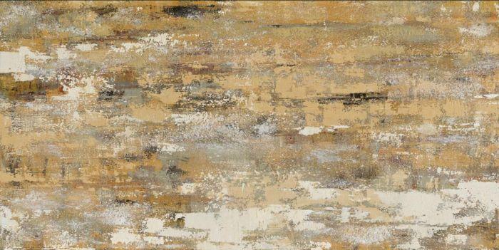 Abstracte Schilderijen: Beige Abstract Schilderij