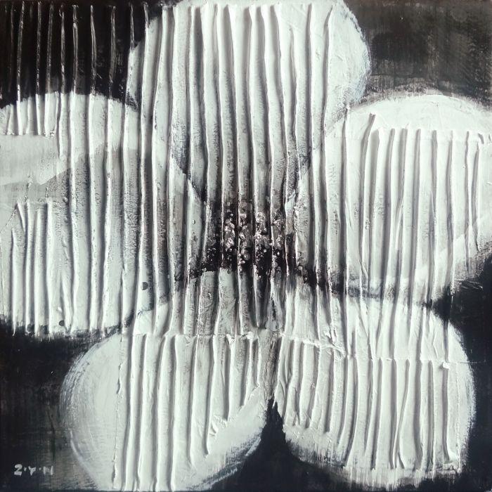 Bloemen Schilderijen: Witte Druipers Bloem Kunst