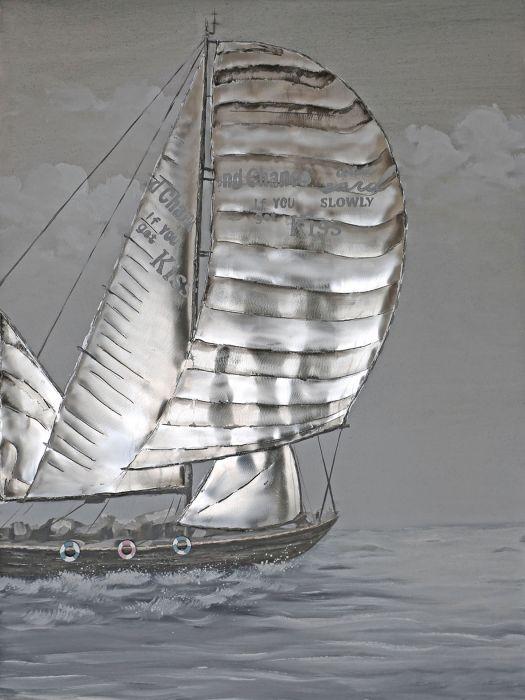 Zeezicht Schilderijen: Zeilboot Schilderij