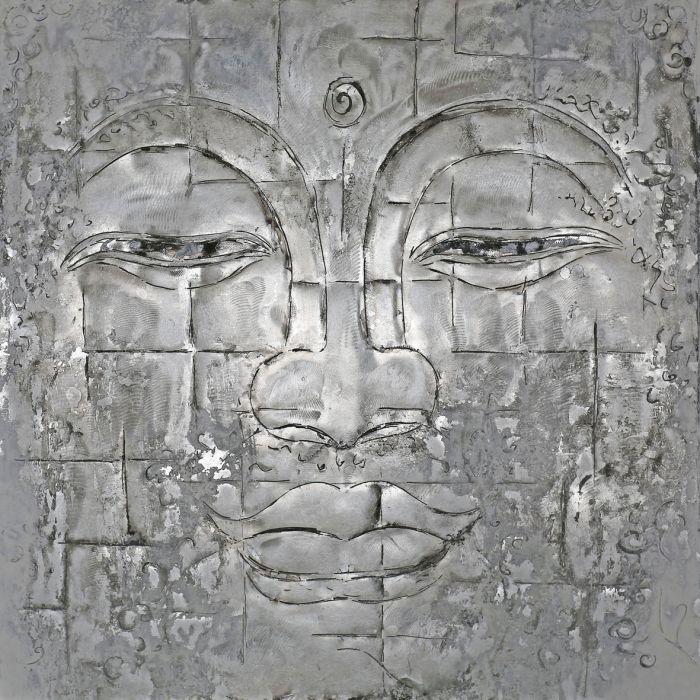 Boeddha Schilderijen: Close Up Boedhha Schilderij