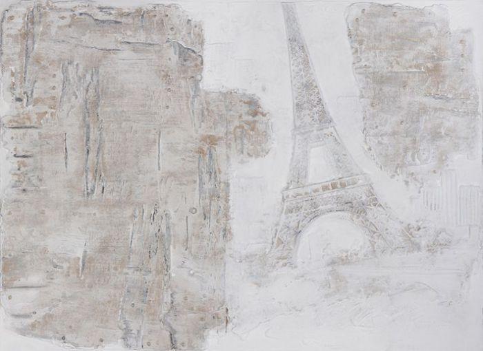 Gebouwen Schilderijen: Modern Parijs Schilderij