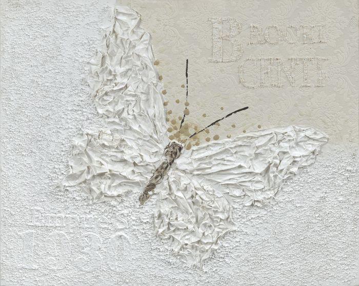 Dieren Schilderijen: Sculptuur Vlinder Kunst