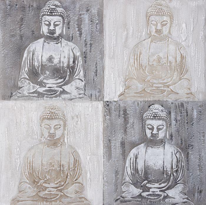 Boeddha Schilderijen: Boeddha Beelden Schilderij