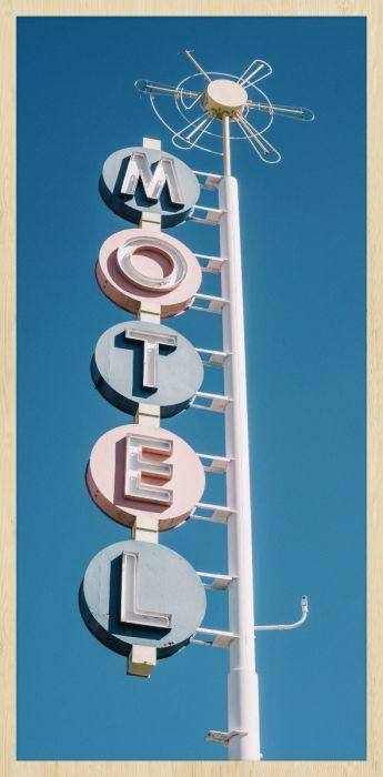 Foto Kunst Schilderijen: Wandkraft Collectie Travel Stories Forex Schilderij Motel