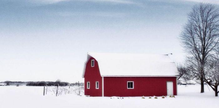 Foto Kunst Schilderijen: Sneeuw Landschap Winter Wonders Wandkraft Schilderijen