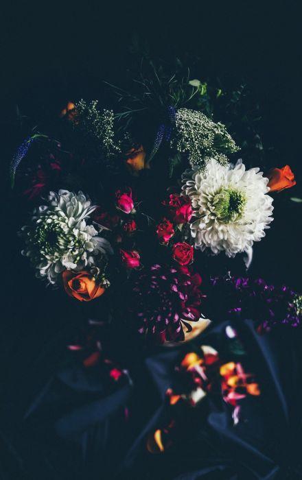 Bloemen Schilderijen: Bloemen Botanische Verhalen Wandkraft Collectie Schilderijen