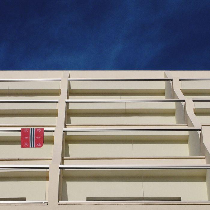 Foto Kunst Schilderijen: Rhythm Of The City Wandkraft Collectie Dibond Schilderij Balkons