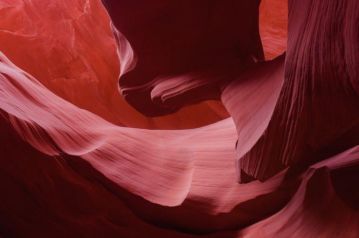 Foto Kunst Schilderijen: Wandkraft dibond schilderij slot canyon