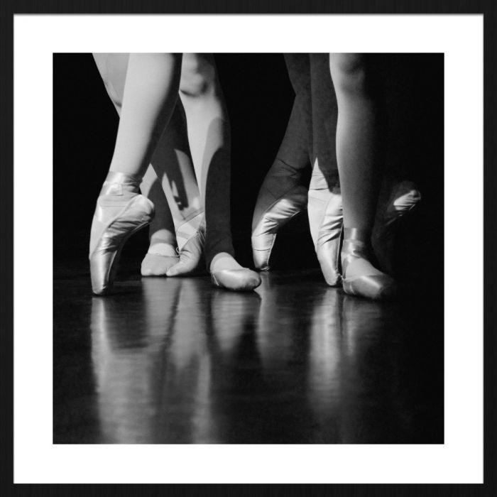 Figuratieve Schilderijen: Ballerina Moves Wandkraft Schilderijen Collectie