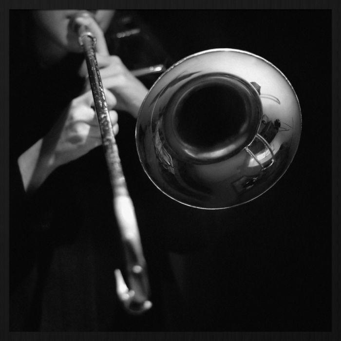 Figuratieve Schilderijen: Music Trompet Speler Collectie Schilderijen Wandkraft Forex
