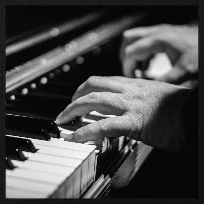 Figuratieve Schilderijen: Piano Speler Music Wandkraft Collectie Forex Schilderij