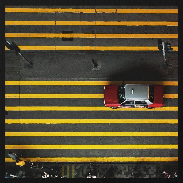 Figuratieve Schilderijen: Rhythm Of The City Taxi Wandkraft Collectie Forex Schilderijen