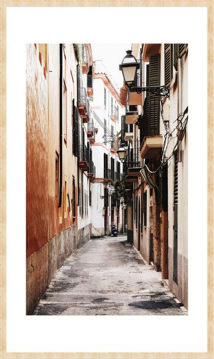 Foto Kunst Schilderijen: Pittorek Straatje Trave Stories Wandkraft Schilderij Forex Collectie