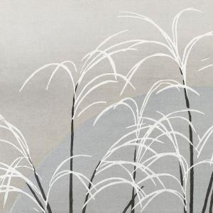 Houten schilderij grassprieten