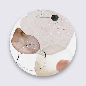 Aluminium art organic shape 005