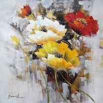 Bloemen schilderijen bestellen